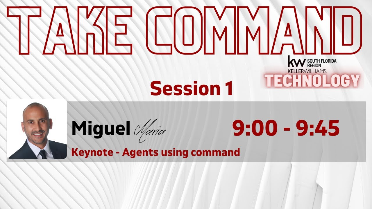 Take Command Session 1 Keynote Preview