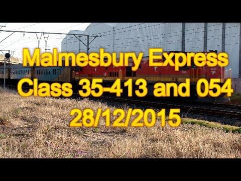 SOUTH AFRICAN TRAINS: Malmesbury Express