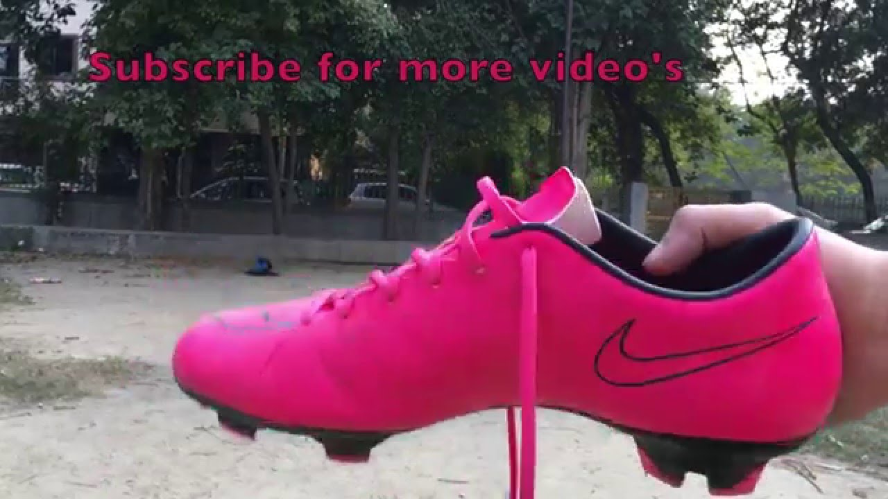 9a5aabaa699b Nike Mercurial Victory V Hyper Pink Black Unboxing and Review - YouTube