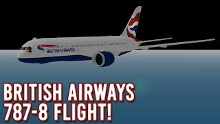ROBLOX | British Airways 787-8 Flight! | SFS