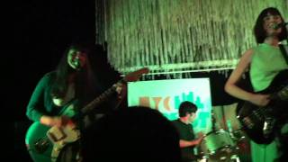 Betty and the Werewolves - Paper Thin (Live @ NYC Pop Fest 2011)