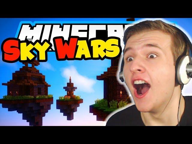 MOJ SNJEŠKO JE NAJBOLJI ( Minecraft Sky W4r5 )