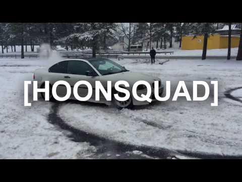 DRIFT! First day of snow HOONING | Estonia