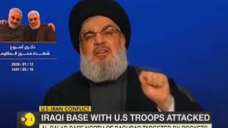 Six rockets hit Iraq base hosting US troops