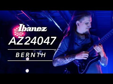 Bernth on Ibanez AZ24047-BK