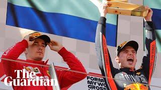 Leclerc slams 'unfair' move after Verstappen wins thrilling Austrian Grand Prix