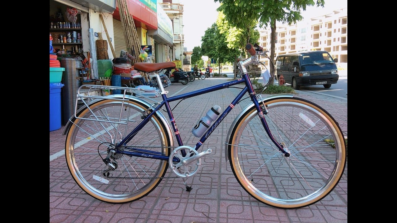 Xe đạp California City 200 Mẫu xe đạp Quá đẹp giá chỉ 3,500,000đ .XEDAPFBIKE.VN
