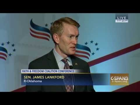 Senator Lankford Speaks at the Faith and Freedom Coalition Policy Conference