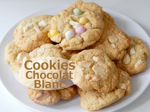 cookies-au-chocolat-blanc- -ellie-pâtisserie