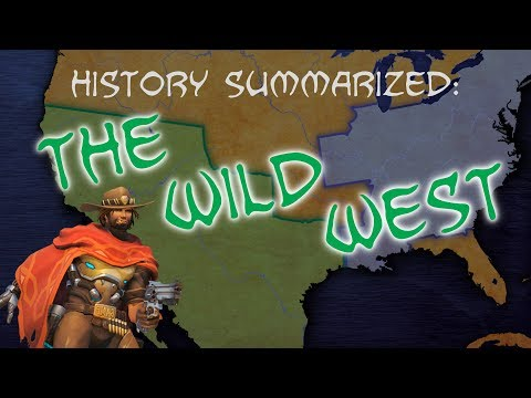 History Summarized: The Wild West