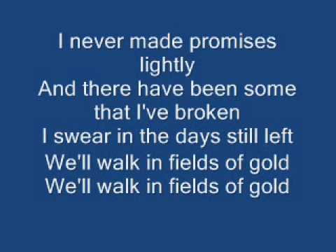 Fields Of Gold (with lyrics) - Sting ( Cover by Bobit ...