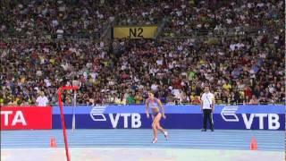 Anna Chicherova beats Blanka Vlasic in the Women
