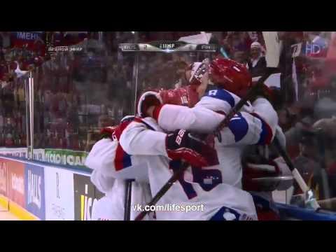 Россия - Финляндия 5 - 2. Финал. Все голы. Чемпионат мира по хоккею 2014.
