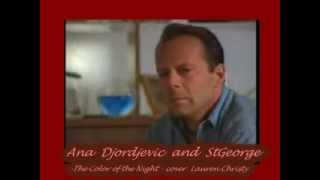 Ana Djordjevic and StGeorge ,,The Color of the Night,, cover Lauren Christy