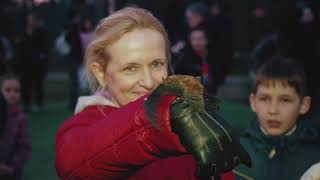 Большой полет: в экопарке выпустили на волю летучих мышей и фазанов