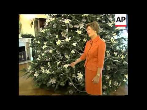 US First Lady talks about Christmas tree decorations