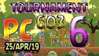Angry Birds Friends Level 6 PC Tournament 603 Highscore POWER-UP walkthrough #AngryBirds