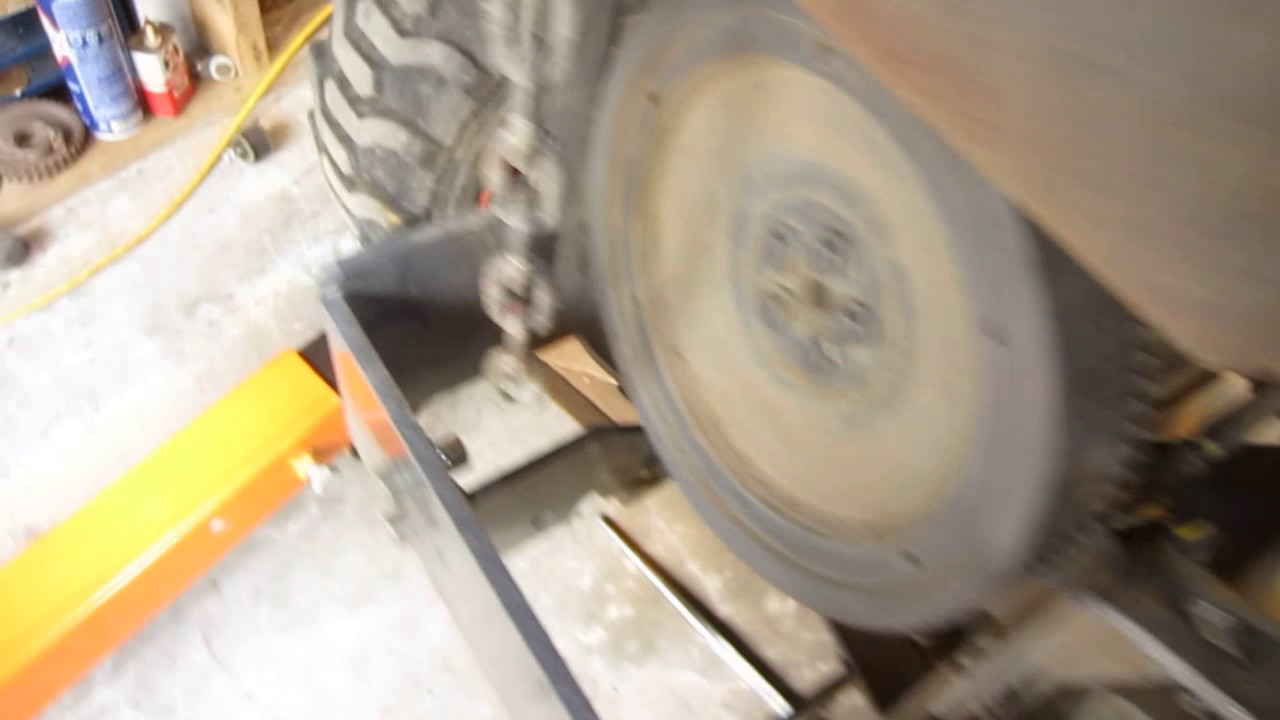 Kubota BX25: drive shaft issues!