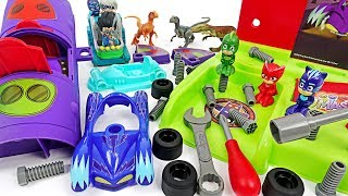 Let's build PJ Masks DIY Playset brought by Rusty Rivets friends! #DuDuPopTOY