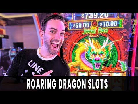 🐉 Roaring Dragon Slots 🤦🏻♂ ACCIDENTAL BONUS! 💰 First Spin WIN!