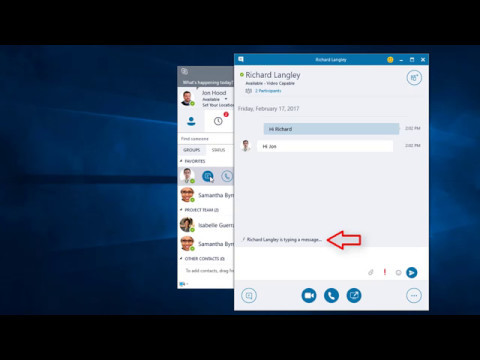 Start A Skype Conversation