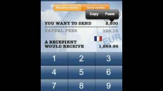 International payment for service - PayPal Fee PRO Calculator
