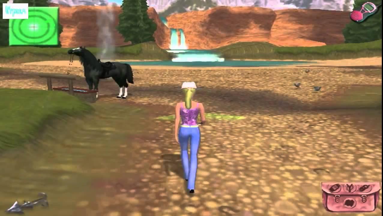 Барби Приключения на ранчо ИГРА - YouTube
