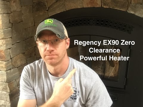 Regency EX90 Zero Clearance Wood Burning Fireplace & Wooodstove