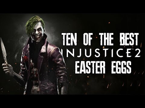10 Of The Best Injustice 2 Easter Eggs,...