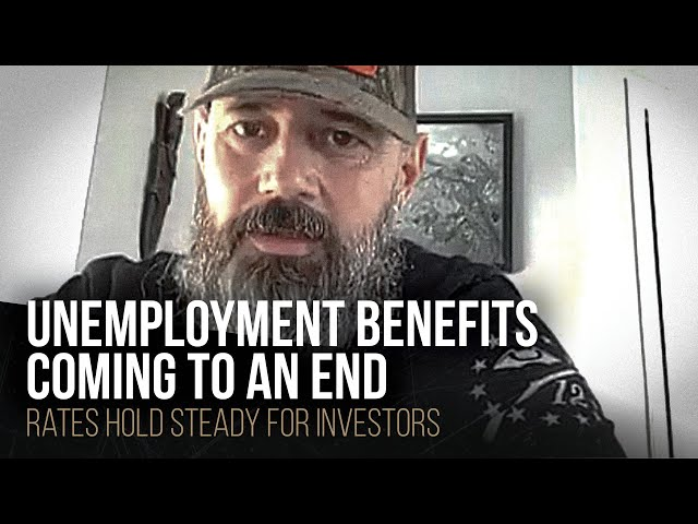 Unemployment benefits coming to an end