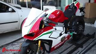 Ducati Panigale V4 Speciale unboxing @fanmoto