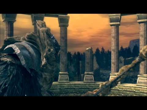 Dark Souls - Hawkeye Gough shoots down Kalameet + extra dialogue