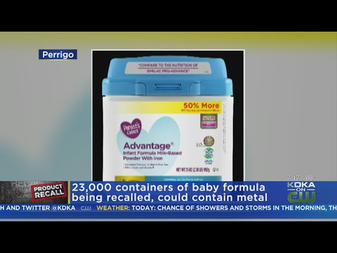 FDA Recalls Parent's Choice Infant Formula Over Possible Metal Presence