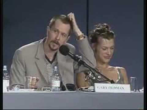 Fifth Element Press Conference Cannes