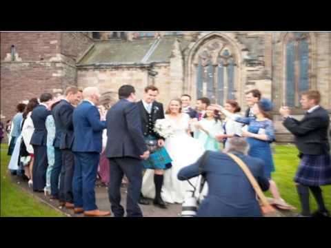Andy Murray and Kim Sears Wedding Photos