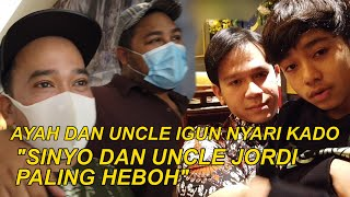 "The Onsu Family - Ayah dan uncle IGUN nyari kado ""Sinyo dan Uncle Jordi paling heboh"""""