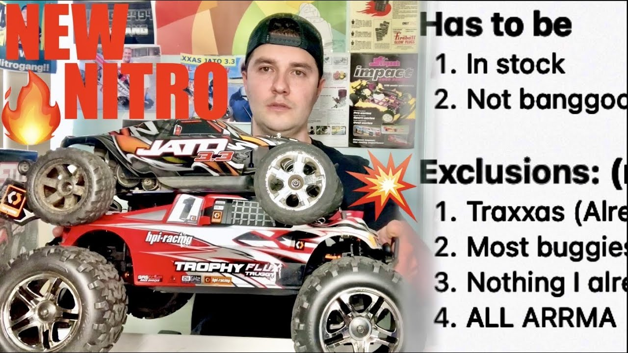 Getting A NEW NITRO - My TOP 5 Choices 🔥 - Help Me Pick (HPI, HoBao, Kyosho, Redcat)... NItrogang👍🏻