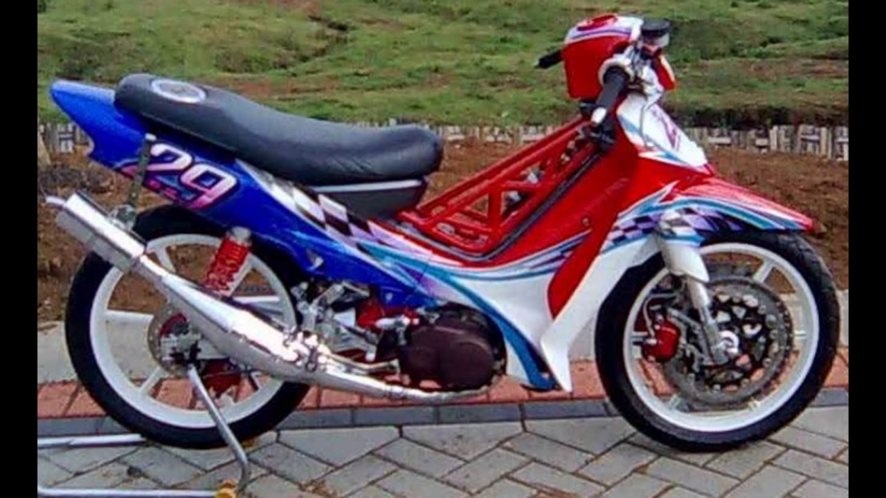 70 Modifikasi Motor F1zr Road Race Terkeren Pinus Motor