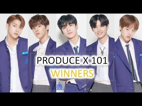 "PRODUCE X 101 FINAL OFFICIAL RANKING ""WINNERS"""