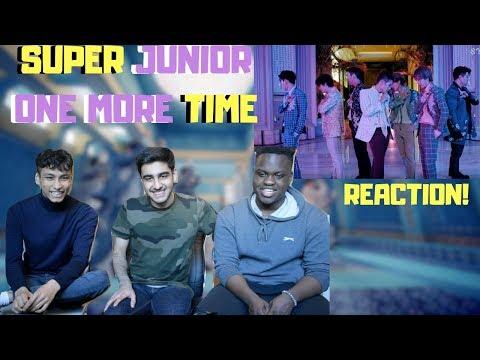 SUPER JUNIOR (슈퍼주니어) X REIK 'One More Time (Otra Vez)' MV REACTION!