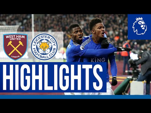 Foxes End 2019 With A Win | West Ham 1 Leicester City 2