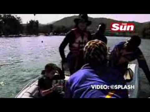 Michael Jackson and Omer Bhatti  - South Africa Holidays  - 1997 -