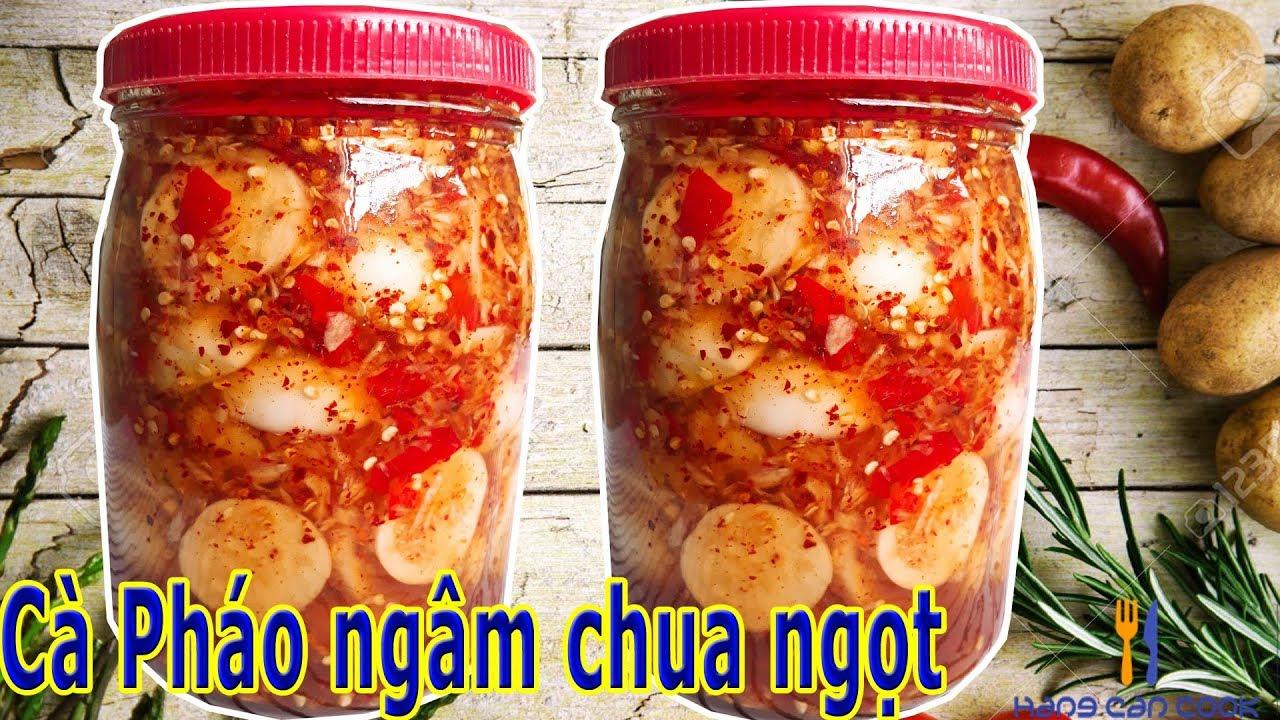 Cách làm Cà Pháo ngâm chua ngọt giòn rụm, ăn là ghiền | HANG CAN COOK