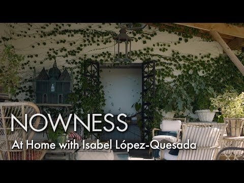 At Home With Isabel López-Quesada With Zara Home