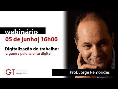 Webinário GT Jovens Investigadores - Junho | Prof. Jorge Remondes