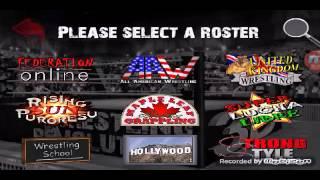 Wrestling Revolution 3D WWE 2K16 MOD+WWE ROSTER MOD REAL