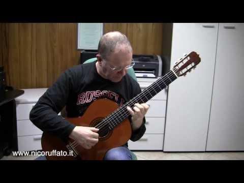 """Leo Brower -  OBSTINATO (from """"Elogio de la Danza"""")"""