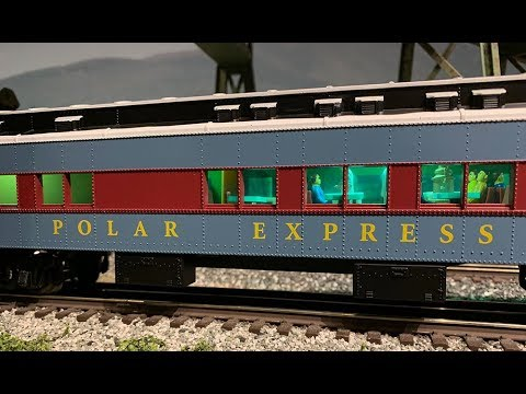Lionel Polar Express O-Scale Passenger Cars - YouTube