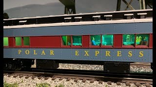 Lionel Polar Express O-Scale Passenger Cars