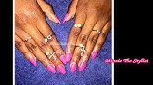 EzFlow TruDIP Color Acrylic Nail Dipping Tutorial - YouTube